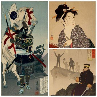 Kobayashi KIYOCHIKA, Meiji Japanese Woodblock Prints, Japanese Woodblock Prints Online Shop