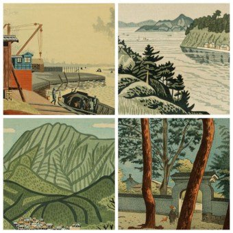Japanese Woodblock Prints - Sosaku Hanga, Landscapes - Asano TAKEJI