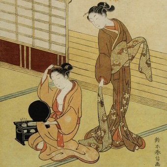 Early Ukiyo-e, Women and Children Woodblock Prints, Suzuki HARUNOBU
