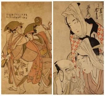 Japanese Woodblock Print - Early Ukiyo-e, Kitagawa UTAMARO
