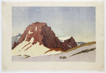 Carl ROTKY Early Spring at the High Mountains
