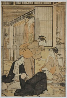 Torii KIYONAGA The Eighth Month