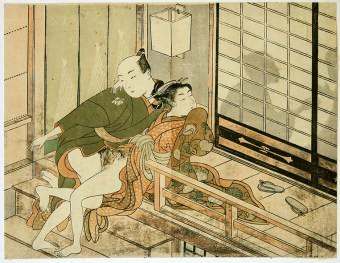 Harunobu , Silent, they might hear us web